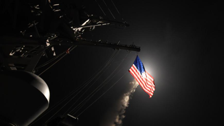 В сети появилось видео ракетной атаки США по Сирии