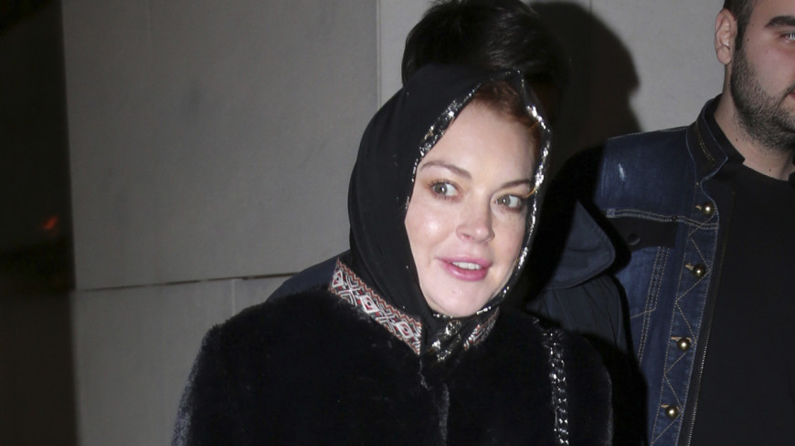 Линдси Лохан приняли за террористку в аэропорту Лондона