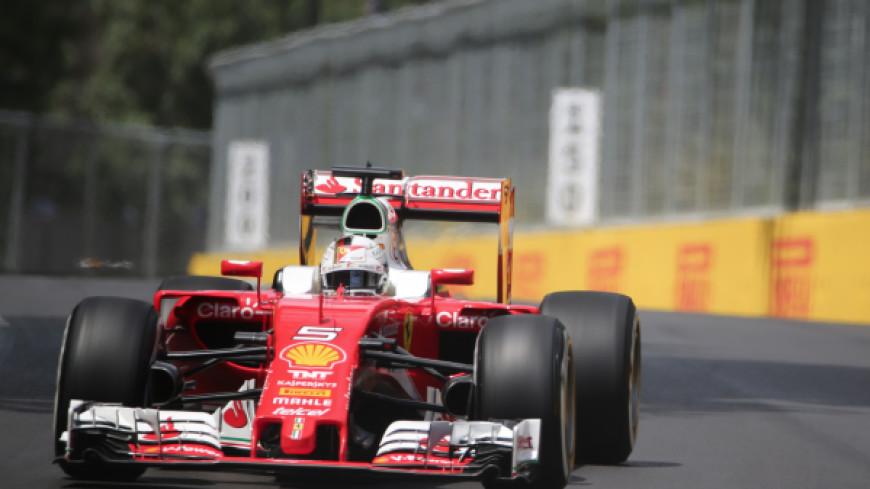 Феттель праздновал победу на Гран-при Бахрейна