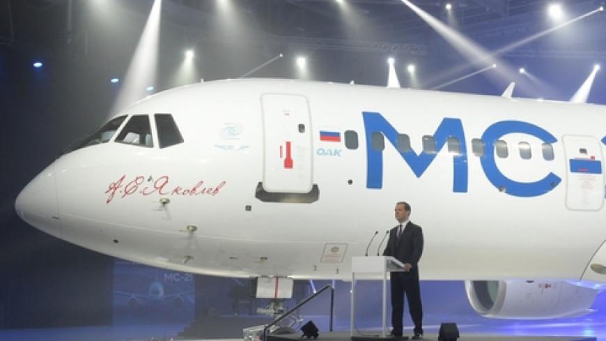 Российский самолет МС-21 готовят к первому полету