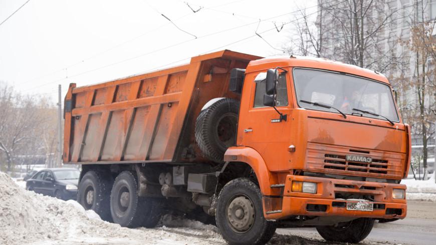 Неэкологичным грузовикам запретили въезд в Москву