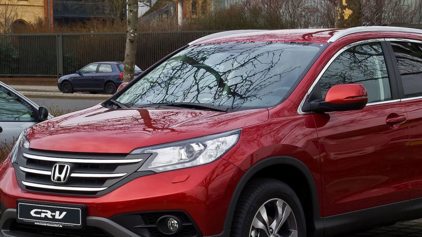 Кроссовер Honda CR-V стал самым продаваемым по итогам 2016 года