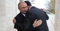 Асад подарил Путину картину сирийского художника