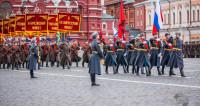 Позади Москва: на Красной площади отметили годовщину Парада 1941 года
