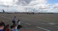 Самолет аварийно сел в Литве из-за проблем с шасси
