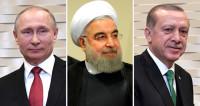 Путин, Рухани и Эрдоган 22 ноября в Сочи обсудят ситуацию в Сирии