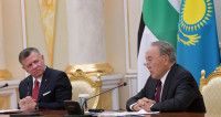 Король Иордании отметил роль Казахстана в решении конфликта в Сирии