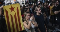 Сторонники независимости Каталонии вновь вышли на улицы