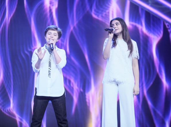 Выступление команды Азербайджана на шоу «Во весь голос»