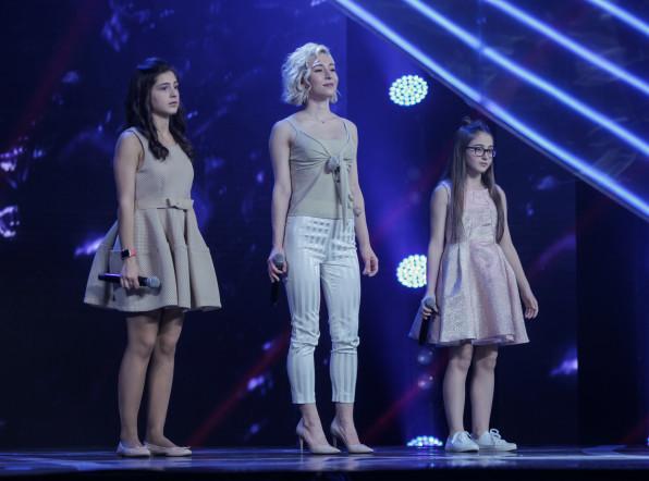 Выступление команды Грузии на шоу «Во весь голос»