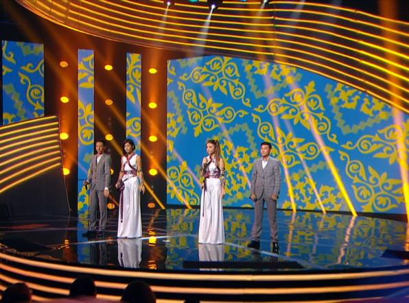 Шоу «Во весь голос»: лидером после первого конкурса стал Казахстан