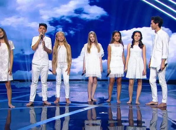 Выступление команды России на шоу «Во весь голос»