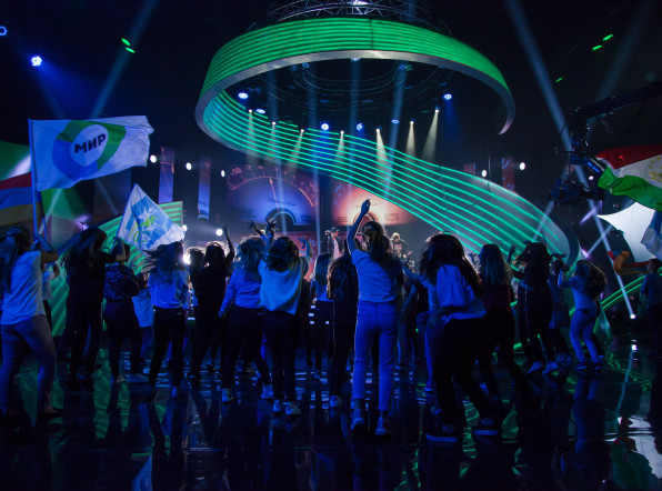 «Во весь голос»: первые съемки команд Беларуси и Грузии