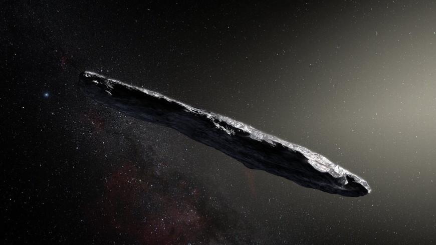 Астрономы рассказали о необычном сигарообразном астероиде