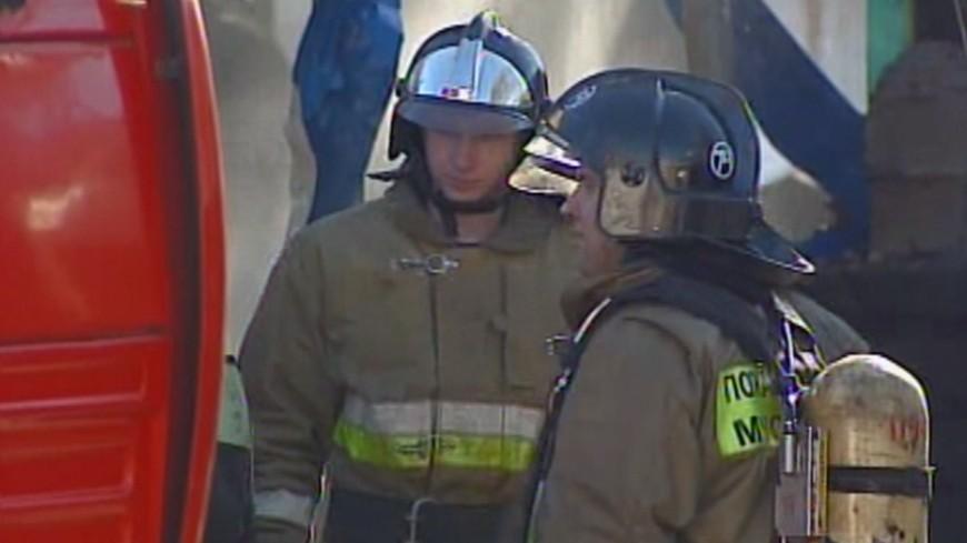 Пожар ликвидирован наскладе назападе столицы
