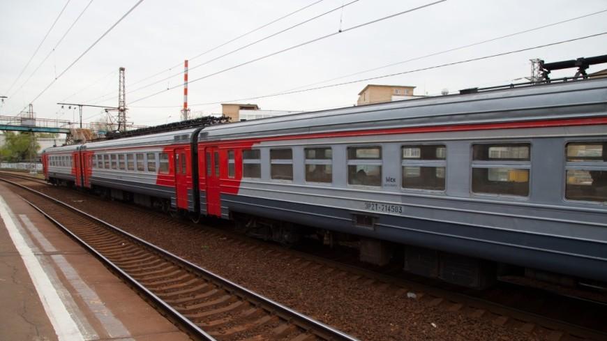 На Ярославском вокзале с крыши электрички сняли зацепера