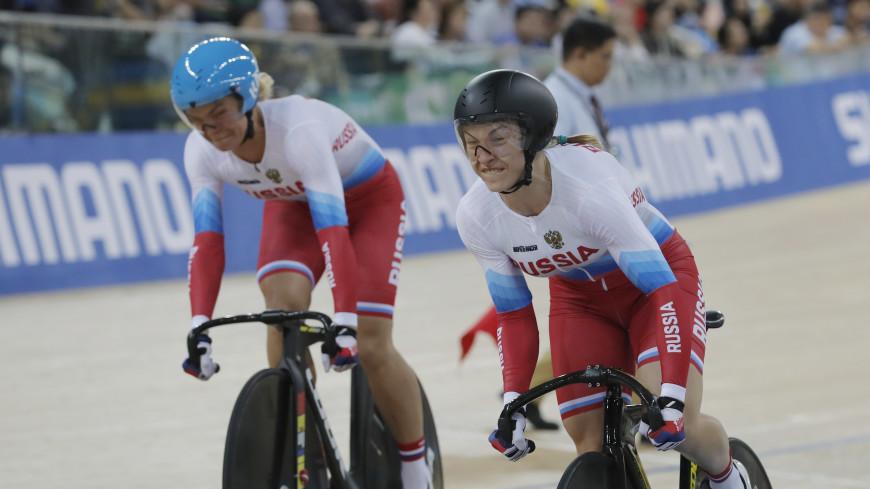 Русские  велосипедистки взяли «серебро» наэтапе Кубка мира