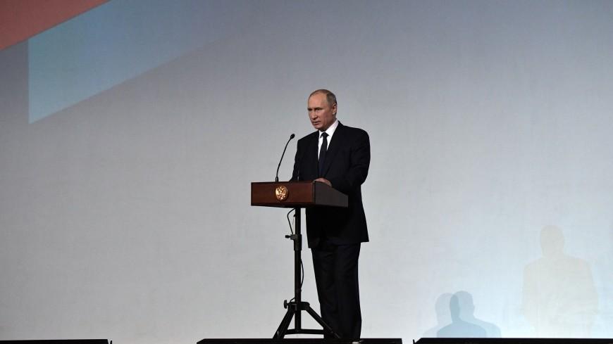 Путин: Санкт-Петербург примет Международную театральную Олимпиаду