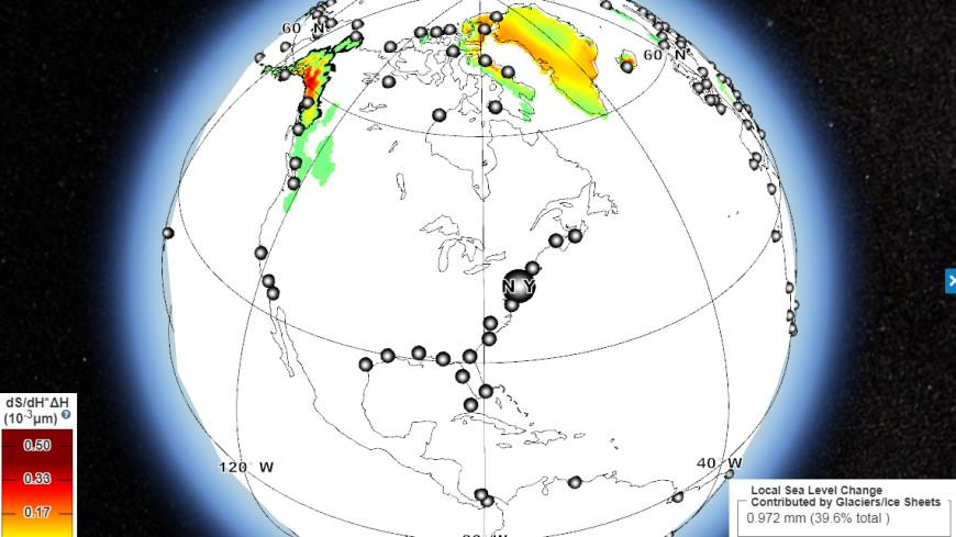Апокалипсис онлайн: в NASA составили карту ледниковых затоплений