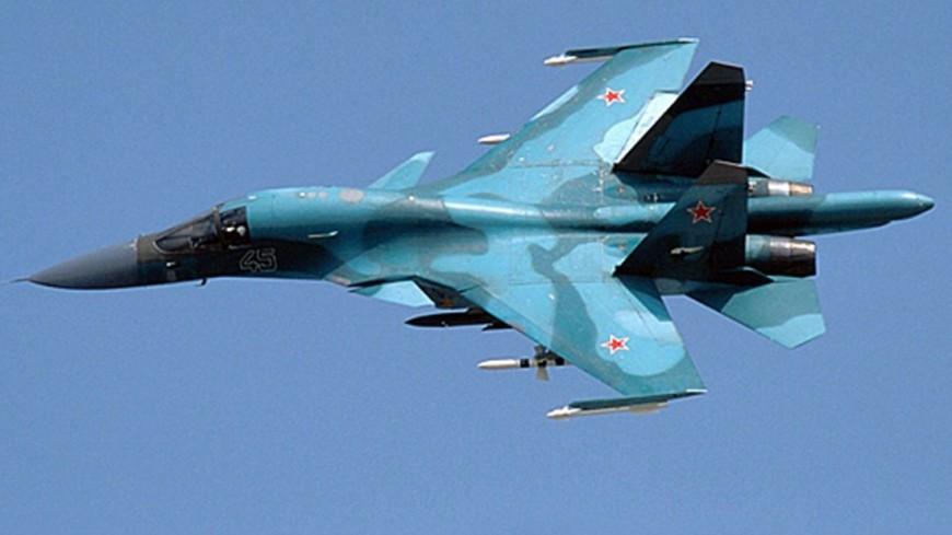 Минобороны: Су-30 перехватил самолет США, защищая границы