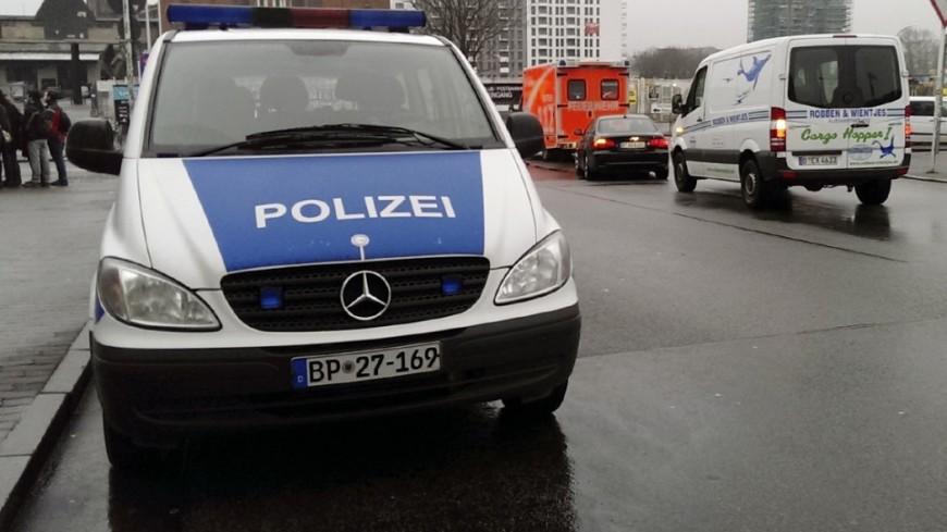 ВГермании рождественская ель повредила мост
