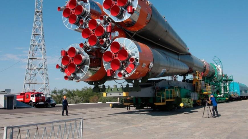 "Фото: ""РОСКОСМОС"":http://www.federalspace.ru/, союз фг, байконур, космос, роскосмос, ракета, ракета-носитель"