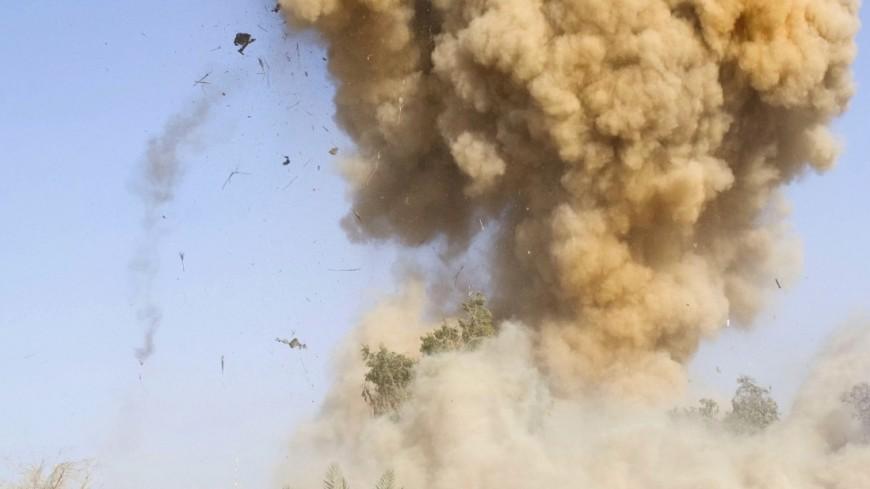 """Фото: """"Официальный сайт Минобороны США"""":http://www.defense.gov/, взрыв"""