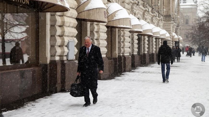 Метеорологическая зима наступит в столице России сначала следующей недели