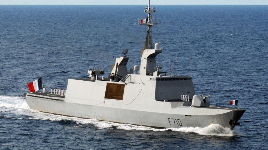 Ракетный фрегат ВМС Франции вошел в Черное море