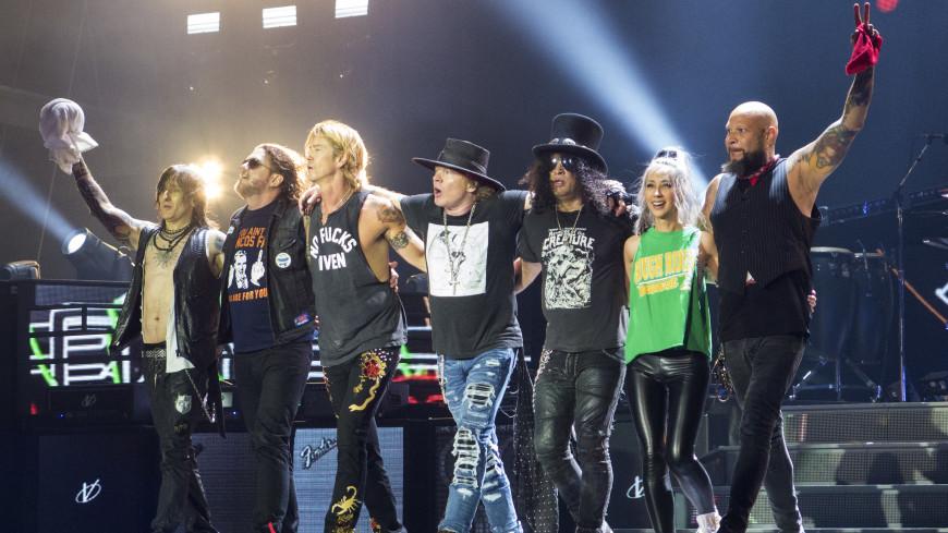 Guns N'Roses выступят в столицеРФ перед концом ЧМ