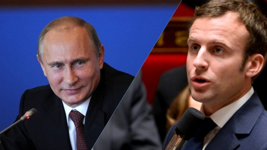 Спецпредставитель руководства Франции привез Путину отМакрона письмо поУкраине