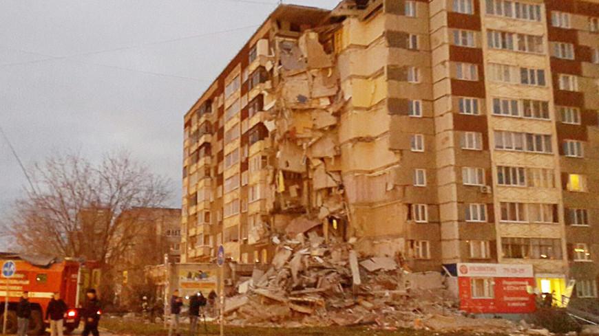 Сложился, как карточный домик: при обрушении дома в Ижевске разрушены 32 квартиры