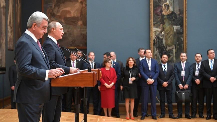 Путин: Дни культуры Армении познакомят россиян с наследием республики