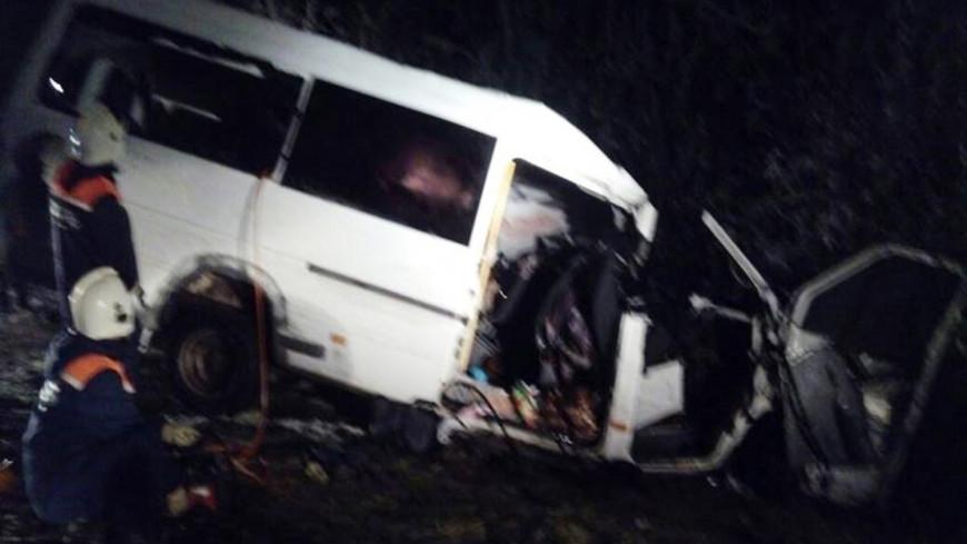 В ДТП с микроавтобусом в Марий Эл погиб ребенок, еще двое пострадали