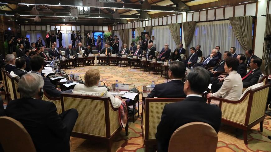 Саммит АСЕАН официально открылся в Маниле