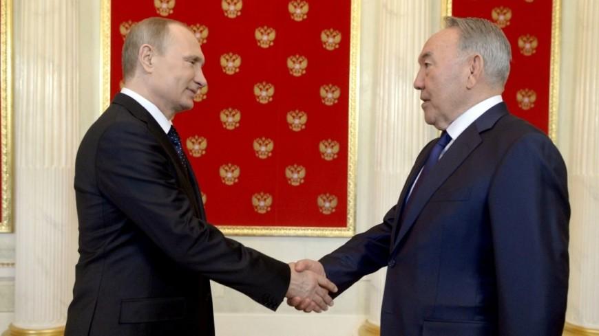 Путин встретится в Челябинске с Назарбаевым