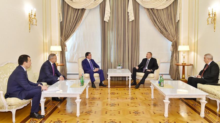 Алиев назвал Казахстан стратегически важным партнером Азербайджана