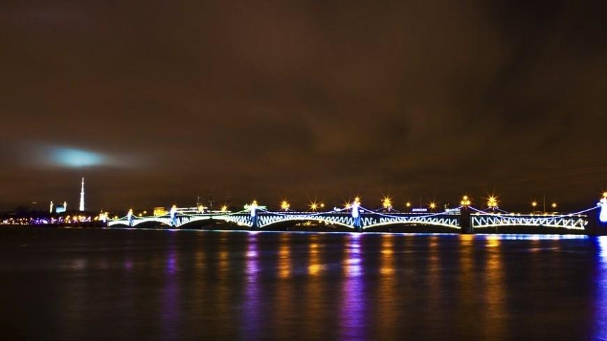 © Фото: Владимир Удачин «Мир 24», ночь, санкт-петербург, питер