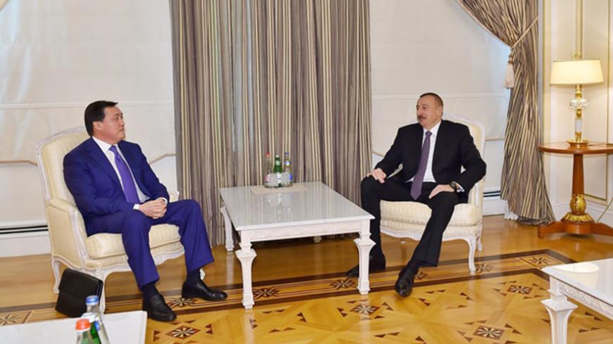 Астана и Баку разработали дорожную карту экономического сотрудничества