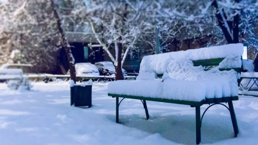 Снежный апокалипсис накрыл Магаданскую область