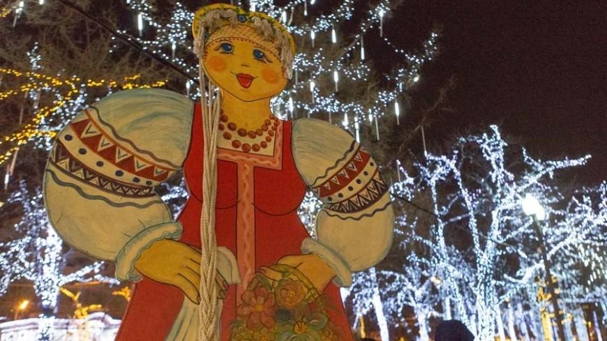 Новогодние украшения на улицах будут радовать москвичей до конца февраля