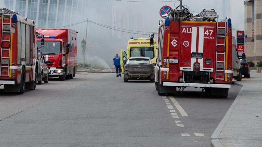 Пожар в Новой Москве ликвидирован: спасены 26 человек