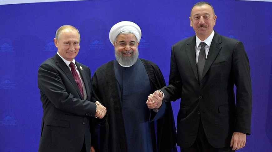 Путин, Алиев и Рухани заявили о решимости бороться с терроризмом