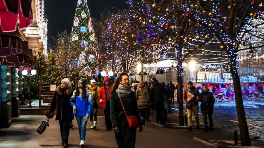 Москвичи помогут составить новогоднюю программу для городских парков