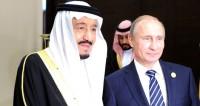 Король Саудовской Аравии впервые прилетел в Россию