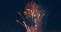Грандиозный фейерверк в честь 25-летия «МИРа» озарил небо над Москвой