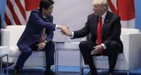 Трамп и Синдзо Абэ обсудили усиление давления на КНДР и игру в гольф