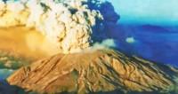 Вулкан Шивелуч выбросил столб пепла на высоту около 8 км