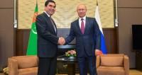 Путин и Бердымухамедов подписали договор о стратегическом партнерстве