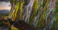 Итуруп. Стена водопадов